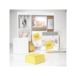 3M POSTIT Öntapadó jegyzettömb, 76x76 mm, 450 lap, , sárga