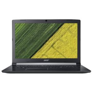 """Acer Aspire A517-51G-3147 17.3"""" IPS HD+ Intel Core i3-7020U, 4GB, 1TB HDD, DVD-RW, GeForce MX130, Elinux, fekete"""
