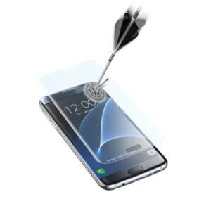 Cellularline Edzett üveg kijelzővédő, GALAXY S7 EDGE