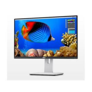 """DELL LCD Monitor 24"""" U2415 1920x1200, 1000:1, 300cd, 6ms, HDMI,MiniDP,DP fekete"""