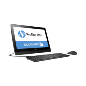 "HP All in One ProOne 400 G3, 20"" HD Touch Core i5-7500T 2.7GHz, 8GB, 256GB SSD, Win 10 Prof."