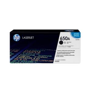 HP Toner (650A) CE270A fekete 13500/oldal