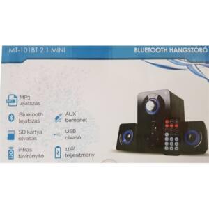 M-TECH Hangfal MT-101BT, Bluetooth
