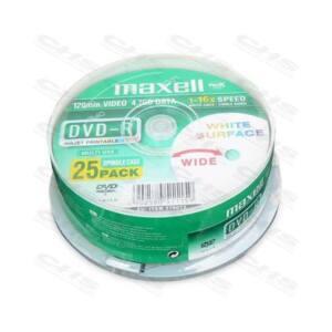 MAXELL DVD lemez +R 4.7GB 25db/Henger 16x