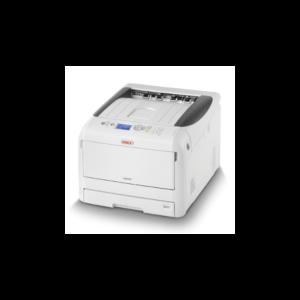 OKI Lézer LED nyomtató C833dn A3, színes, 256MB, USB/Háló, A4 35lap/perc FF, 1200x600 dpi, duplex