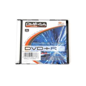OMEGA-FREESTYLE DVD lemez +R DL 8.5GB 8x Slim tok