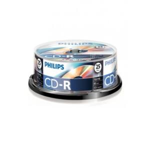 PHILIPS CD Lemez CD-R80 25db/Henger 52x
