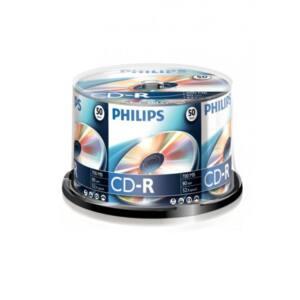 PHILIPS CD Lemez CD-R80 50db/Henger 52x